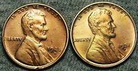 1925-D  1931-D LINCOLN WHEAT CENTS --- STUNNING DETAILS LOT --- W836