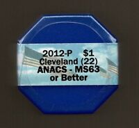 2012 P CLEVELAND 1ST  ICG - MINT STATE 63 OR BETTER SEALED 20 COIN PRESIDENTIAL $ ROLL