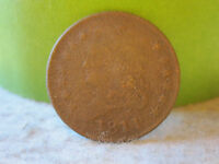 1811 CLASSIC HEAD HALF CENT  KEY DATE 1/2 CENT AWESOME DETAIL