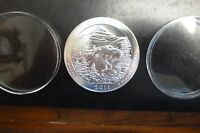2011 5 OZ .999 SILVER ATB COIN GLACIER MONTANA   AMERICA THE BEAUTIFUL