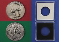 1984 D GEORGE WASHINGTON QUARTER WITH 2X2 CASE FROM MINT SET FLAT RATE SHIPPING
