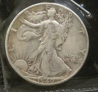 1940 S WALKING LIBERTY SILVER HALF DOLLAR    VF    K242
