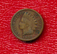 1908 S INDIAN HEAD CENT KEY DATE IN THE SERIES