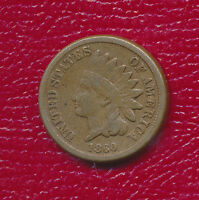 1860 INDIAN HEAD CENT ROUND BUST