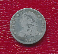 1831 CAPPED BUST SILVER DIME VERY NICE CIRCULATED COIN