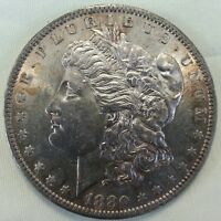 1880 O MORGAN SILVER DOLLAR CHOICE BU BRILLIANT UNCIRCULATED CARTWHEEL COIN