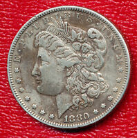 1880 MORGAN SILVER DOLLAR VERY FINE COIN