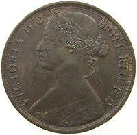GREAT BRITAIN 1 PENNY 1862 TOP   T5 091