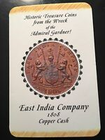 1808 EAST INDIA COMPANY TREASURE COIN MINT CONDITION ADMIRAL GARDNER