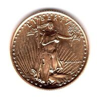1986 $5.00 1/10 OUNCE GOLD EAGLE FIRST YEAR ISSUE