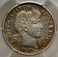 1895 O BARBER DIME LY FINE DISCOUNTED PCGS CERTIFIED KEY DATE