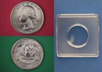 1977 P GEORGE WASHINGTON QUARTER WITH 2X2 SNAP FROM MINT SET FLAT RATE SHIPPING