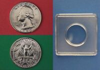 1980 D GEORGE WASHINGTON QUARTER WITH 2X2 SNAP FROM MINT SET FLAT RATE SHIPPING