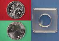 2013 D MOUNT RUSHMORE QUARTER WITH 2X2 SNAP FROM MINT SET FLAT RATE SHIPPING