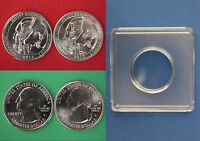 2013 D P MOUNT RUSHMORE QUARTERS WITH 2X2 SNAPS FROM MINT SETS FLAT RATE SHIP