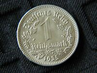 1 REICHSMARK 1935 A NAZI GERMANY COIN   KM 78   5632