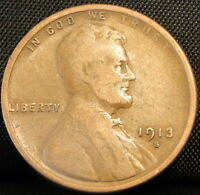 1913-S LINCOLN WHEAT CENT 4