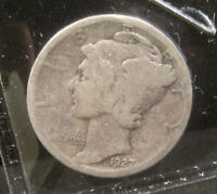 1927 MERCURY SILVER DIME   YOU GRADE   P1