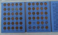 LOT/COLLECTION LINCOLN WHEAT CENT SET 1941 1958