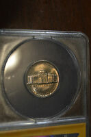 1975 5C JEFFERSON NICKEL ANACS GRADED MS 65 4702628 NICE COIN FIVE FULL STEPS