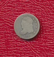 1837 CAPPED BUST SILVER HALF DIME COLLECTIBLE TYPE COIN SHIPS FREE