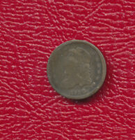 1836 CAPPED BUST SILVER HALF DIME  CIRCULATED TYPE COIN SHIPS FREE