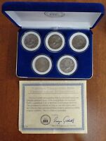 KENNEDY HALF DOLLAR COLLECTION NATIONAL COLLECTORS MINT 2002 2006 & COA