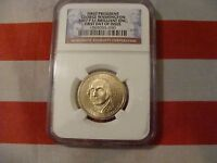 2007 P FIRST PRESIDENT GEORGE WASHINGTON $1BRILLIANT UNCIRCULATED  NGC SLAB