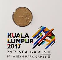 MALAYSIA 2017 SOUTHEAST ASIAN GAMES AND 9TH ASEAN COIN CARD  OFFER
