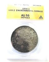 1898 P AU MORGAN DOLLAR VAM 2 DIAGNOSTIC PIECE FOR THE VAM 2 SERIES