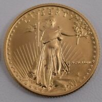 1986 $10.00 1/4 OUNCE GOLD EAGLE FIRST YEAR ISSUE