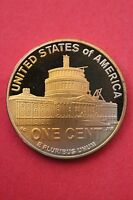 NATURALLY TONED 2009 S PROOF LINCOLN PRESIDENCY DCAM FLAT RATE SHIPPING 01