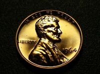 1964 P  LINCOLN MEMORIAL PENNY PROOF  W24731