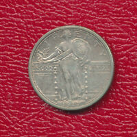 1917-S STANDING LIBERTY SILVER QUARTER TYPE I GENTLY CIRCULATED SHIPS FREE