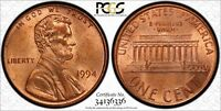 1994 LINCOLN CENT PCGS MS65RD DDR FS 801 DOUBLE DIE REVERSE VARIETY CHERRYPICKER
