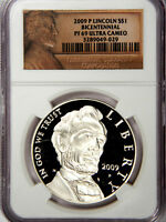 2009 P LINCOLN SILVER DOLLAR   NGC PF69   PRICED RIGHT