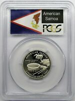2009 S AMERICAN SAMOA QUARTER PCGS PR69DCAM PROOF US TERRITORIES FAST SHIPPING
