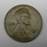1951 S LINCOLN WHEAT CENT DOUBLE DIE CHIPS IDB 1C 1951S 01 VF CONDITION.