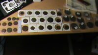 36 ANTIQUE RUSSIAN COINS ALL DATED 1730 1830