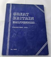 1937  1965  PARTIAL GREAT BRITAIN HALFPENNIES SET 47/49 COIN