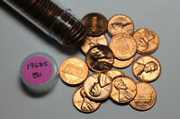 1968 S ROLL OF BU LINCOLN CENTS