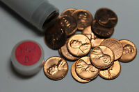 1961 D ROLL OF BU LINCOLN CENTS