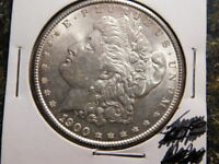 1900     $1 MORGAN SILVER DOLLAR    MS
