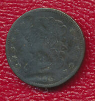 1834 CAPPED BUST HALF CENT   WONDERFUL TYPE COIN