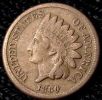 1860 INDIAN HEAD CENT   XF DETAILS 17099