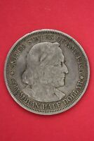 1893 COLUMBIAN EXPOSITION HALF DOLLAR EXACT COIN SHOWN FLAT RATE SHIPPING OCE365