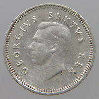 SOUTH AFRICA 3 PENCE 1950 NZ 077