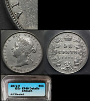 Click now to see the BUY IT NOW Price! ELITE COINS   50 CENTS   1872H A OVER V   EF40 BOOK $6000  LX109