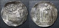 ANCIENT  CELTIC IMITATING THASOS. AR TETRADRACHM 2ND 1ST C. BC 17.2G  E006