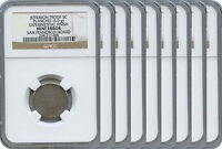 9  PROOF JEFFERSON 5C EXPERIMENTAL PLANCHETS DISCOVERY GROUP NGC
